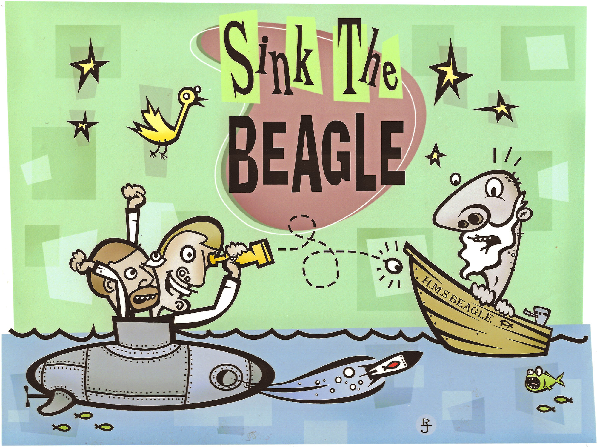Sink the Beagle logo